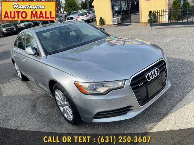 Used 2015 Audi A6 in Huntington Station, New York | Huntington Auto Mall. Huntington Station, New York