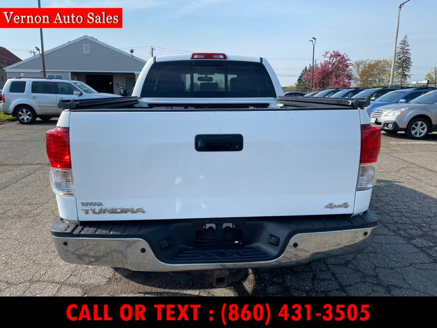 Used Toyota Tundra 4WD Truck Dbl 5.7L V8 6-Spd AT LIMITED (Natl) 2011 | Vernon Auto Sale & Service. Manchester, Connecticut