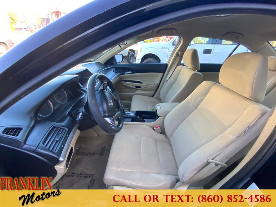 Used Honda Accord Sdn 4dr I4 Auto LX PZEV 2012   Franklin Motors Auto Sales LLC. Hartford, Connecticut