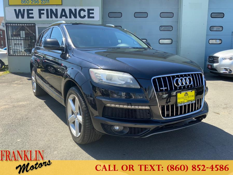 Used 2013 Audi Q7 in Hartford, Connecticut | Franklin Motors Auto Sales LLC. Hartford, Connecticut