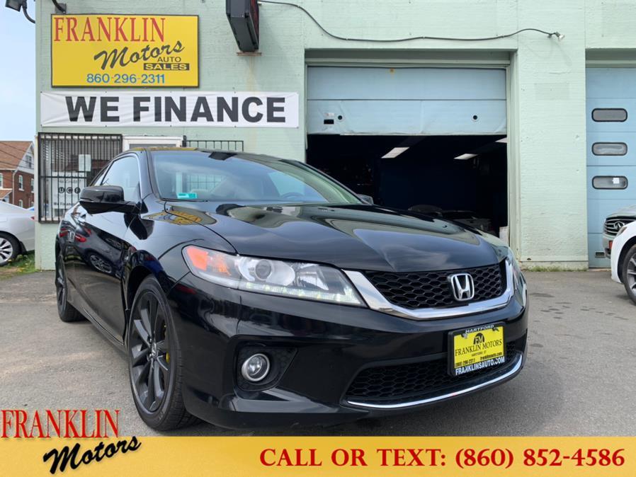 Used 2013 Honda Accord Cpe in Hartford, Connecticut | Franklin Motors Auto Sales LLC. Hartford, Connecticut