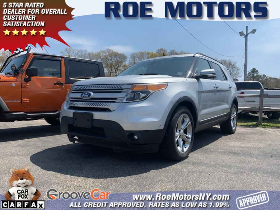 Used 2015 Ford Explorer in Shirley, New York | Roe Motors Ltd. Shirley, New York