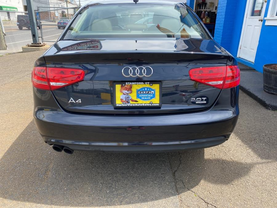 Used Audi A4 4dr Sdn Auto quattro 2.0T Premium 2014 | Harbor View Auto Sales LLC. Stamford, Connecticut