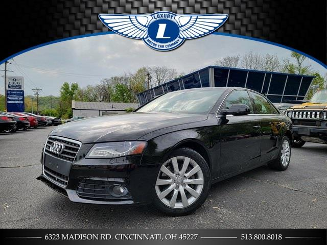Used 2011 Audi A4 in Cincinnati, Ohio | Luxury Motor Car Company. Cincinnati, Ohio
