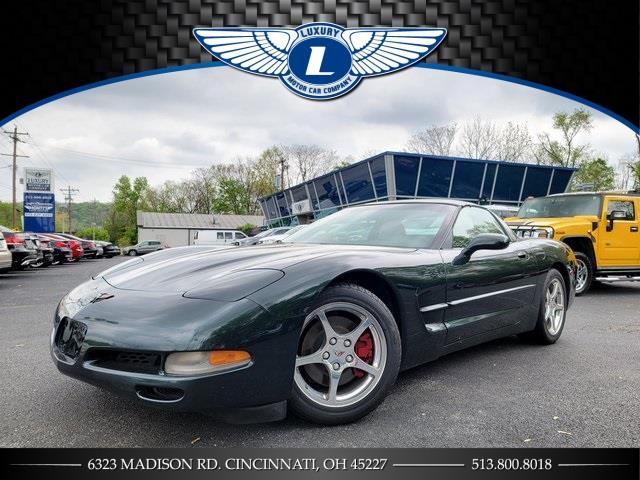 Used 2001 Chevrolet Corvette in Cincinnati, Ohio | Luxury Motor Car Company. Cincinnati, Ohio