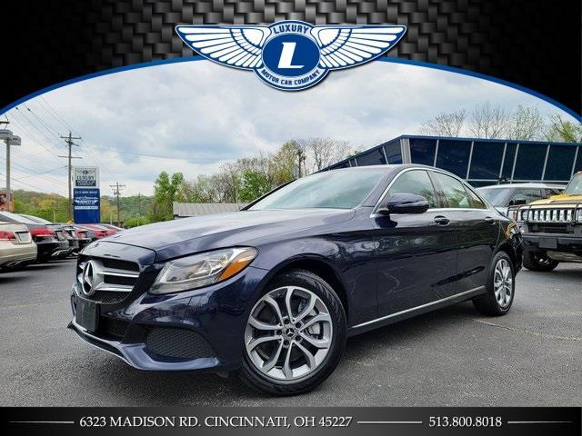 Used 2018 Mercedes-benz C-class in Cincinnati, Ohio | Luxury Motor Car Company. Cincinnati, Ohio