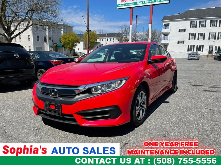 Used 2018 Honda Civic Sedan in Worcester, Massachusetts | Sophia's Auto Sales Inc. Worcester, Massachusetts