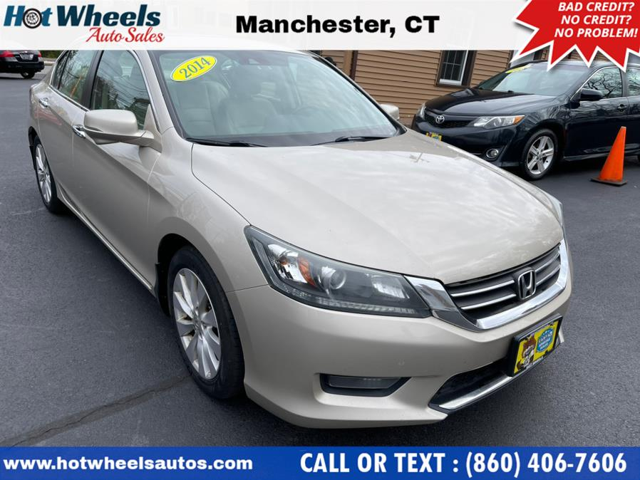 Used 2014 Honda Accord Sedan in Manchester, Connecticut   Hot Wheels Auto Sales LLC. Manchester, Connecticut