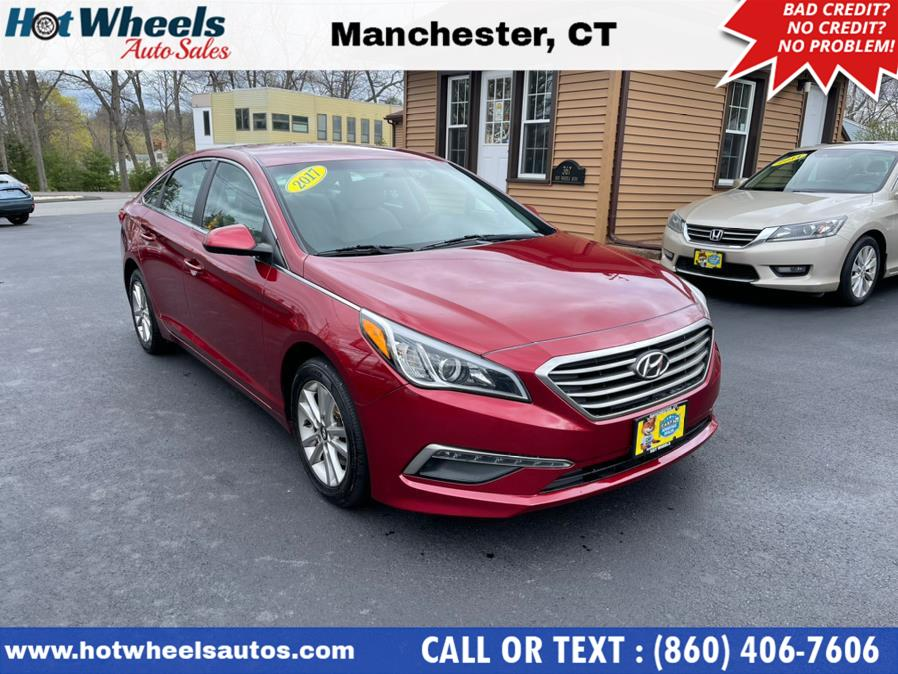 Used 2015 Hyundai Sonata in Manchester, Connecticut | Hot Wheels Auto Sales LLC. Manchester, Connecticut