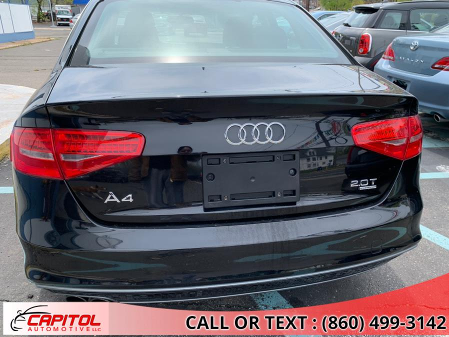 Used Audi A4 4dr Sdn Auto quattro 2.0T Premium 2015   Capitol Automotive 2 LLC. Manchester, Connecticut