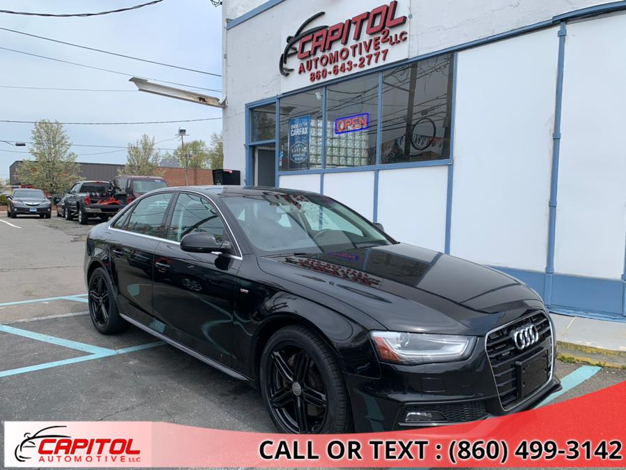 Used 2015 Audi A4 in Manchester, Connecticut | Capitol Automotive 2 LLC. Manchester, Connecticut