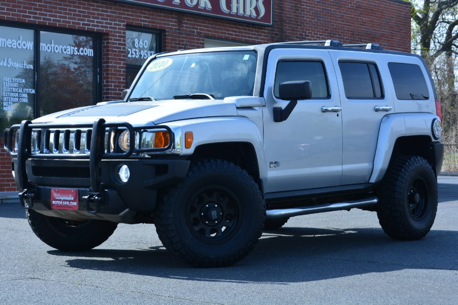Used 2010 HUMMER H3 SUV in ENFIELD, Connecticut | Longmeadow Motor Cars. ENFIELD, Connecticut