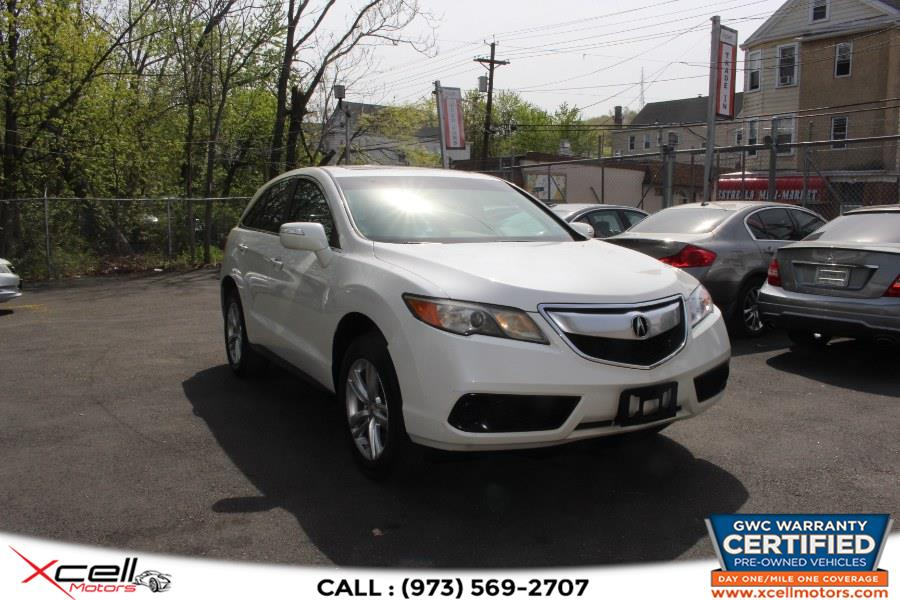 Used 2013 Acura RDX AWD in Paterson, New Jersey   Xcell Motors LLC. Paterson, New Jersey