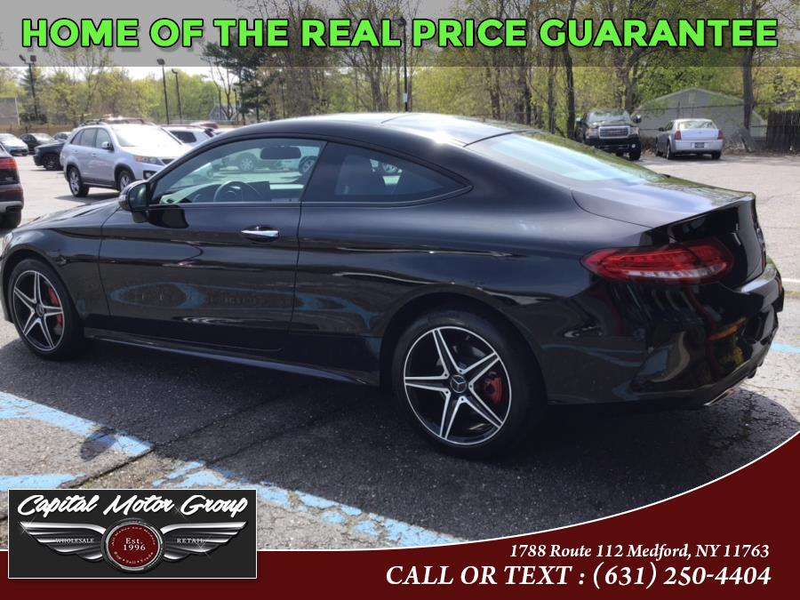 Used Mercedes-Benz C-Class C 300 4MATIC Coupe 2017   Capital Motor Group Inc. Medford, New York