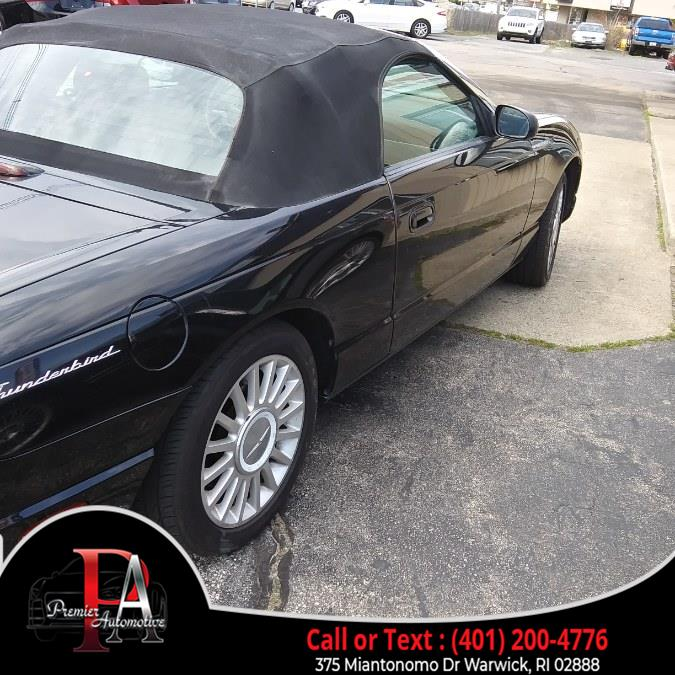 Used Ford Thunderbird 2dr Convertible Deluxe 2005 | Premier Automotive Sales. Warwick, Rhode Island
