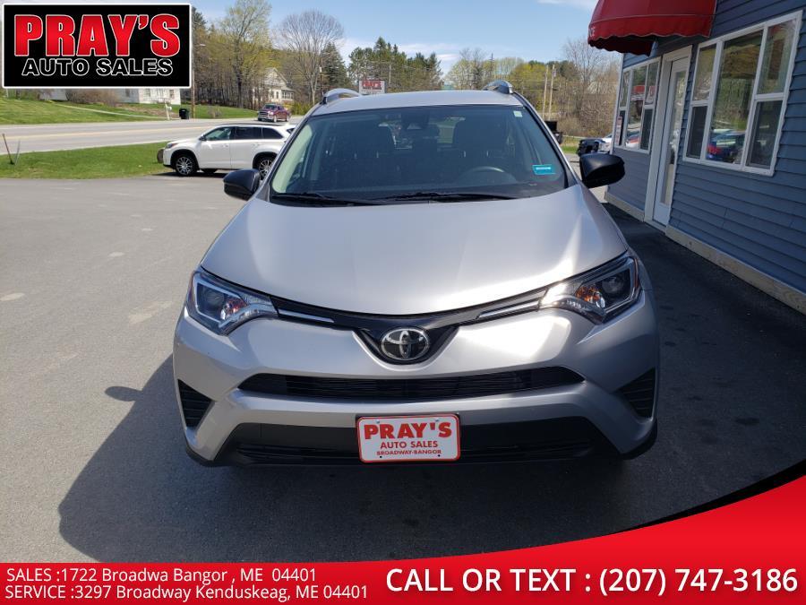 Used 2017 Toyota RAV4 in Bangor , Maine | Pray's Auto Sales . Bangor , Maine