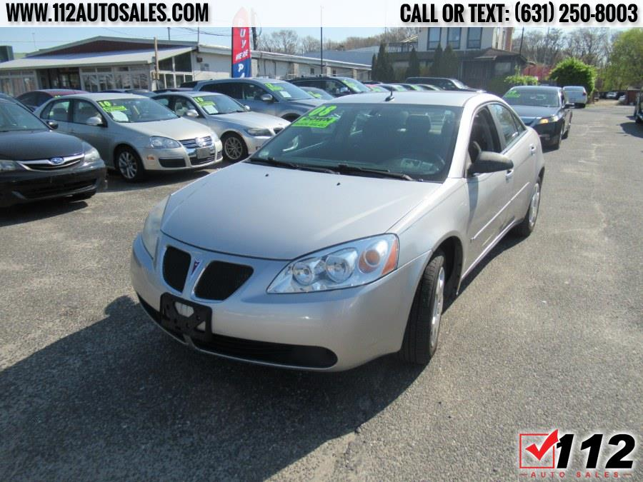 Used Pontiac G6 4dr Sdn 1SV Value Leader 2008 | 112 Auto Sales. Patchogue, New York