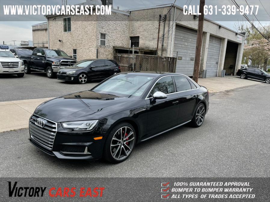 Used Audi S4 3.0 TFSI Premium Plus quattro AWD 2018 | Victory Cars East LLC. Huntington, New York