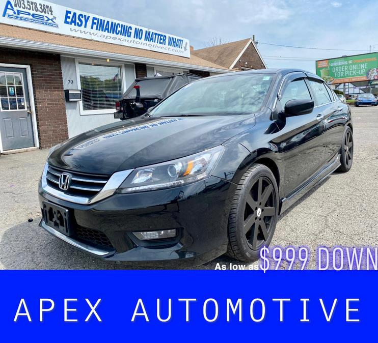 Used 2014 Honda Accord Sedan in Waterbury, Connecticut | Apex  Automotive. Waterbury, Connecticut