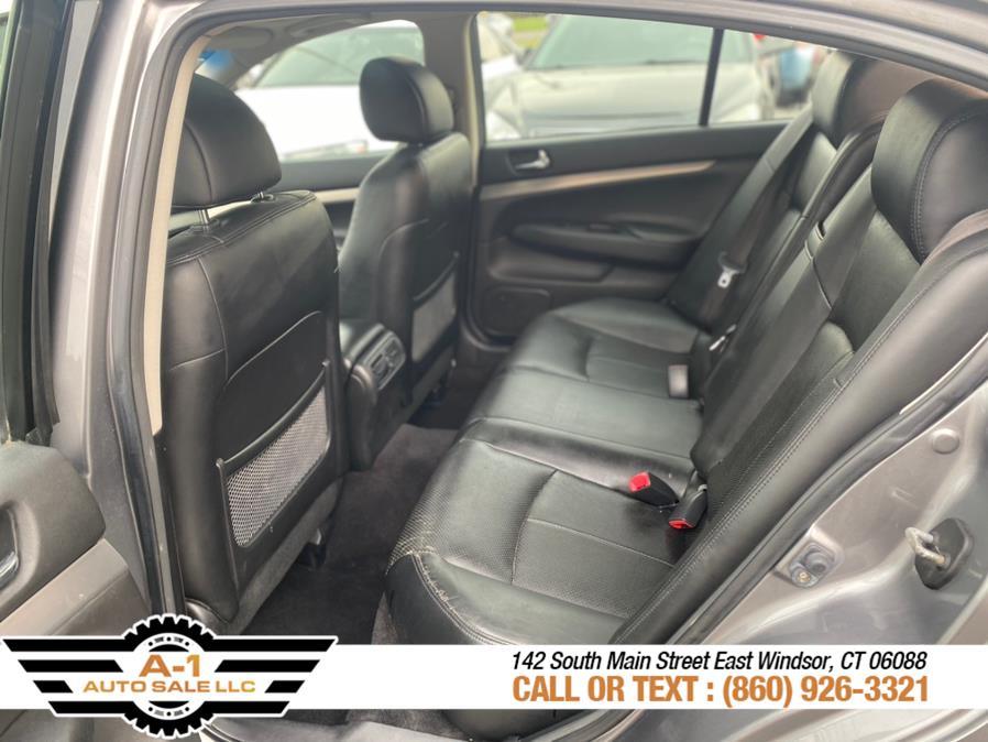 Used Infiniti G37 Sedan 4dr x AWD 2011 | A1 Auto Sale LLC. East Windsor, Connecticut