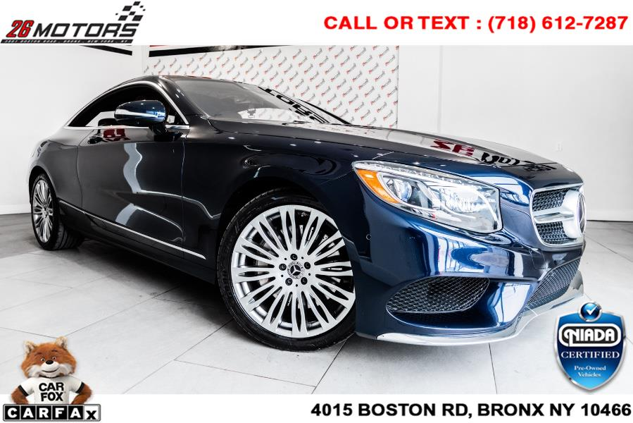 Used 2018 Mercedes-Benz S-Class in Woodside, New York | 52Motors Corp. Woodside, New York