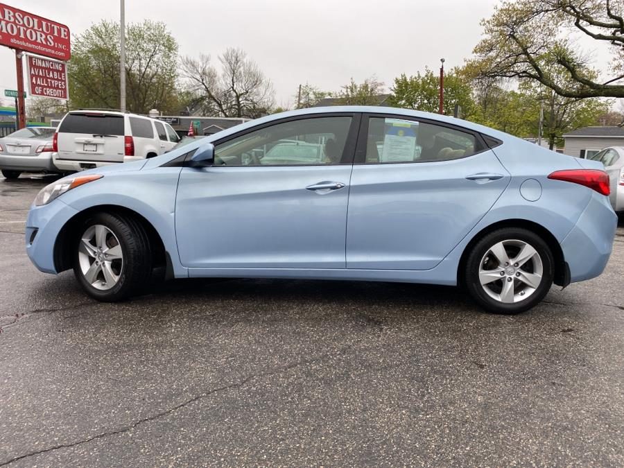 Used Hyundai Elantra 4dr Sdn Auto GLS PZEV (Ulsan Plant) *Ltd Avail* 2011 | Absolute Motors Inc. Springfield, Massachusetts