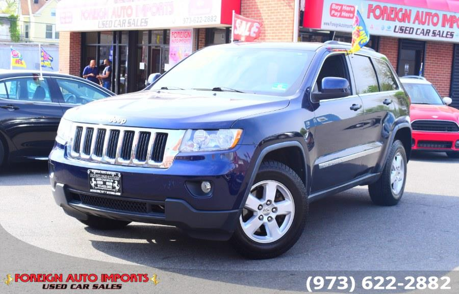 Used Jeep Grand Cherokee 4WD 4dr Laredo 2012 | Foreign Auto Imports. Irvington, New Jersey