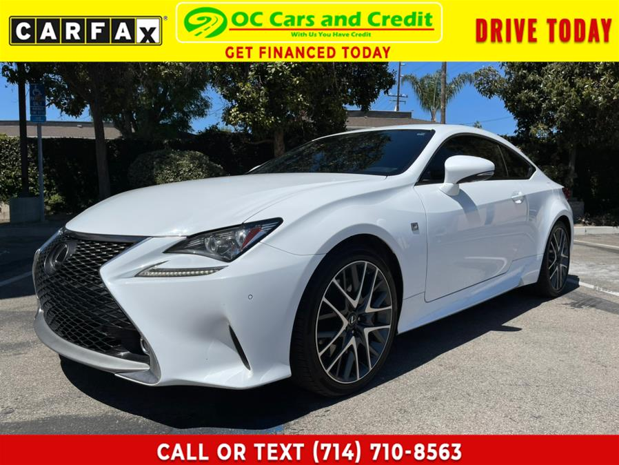 Used 2015 Lexus RC 350 in Garden Grove, California | OC Cars and Credit. Garden Grove, California
