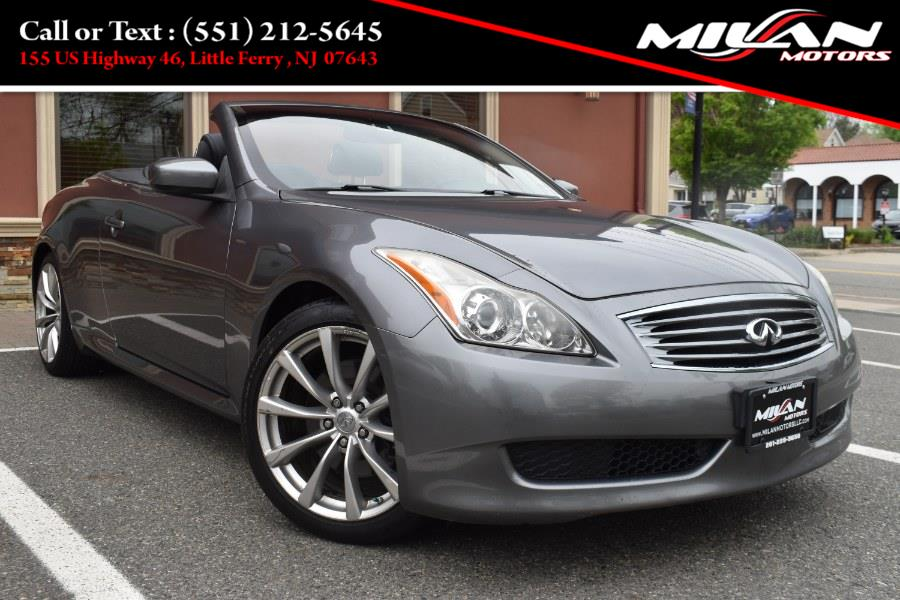 Used Infiniti G37 Convertible 2dr Base 2010   Milan Motors. Little Ferry , New Jersey