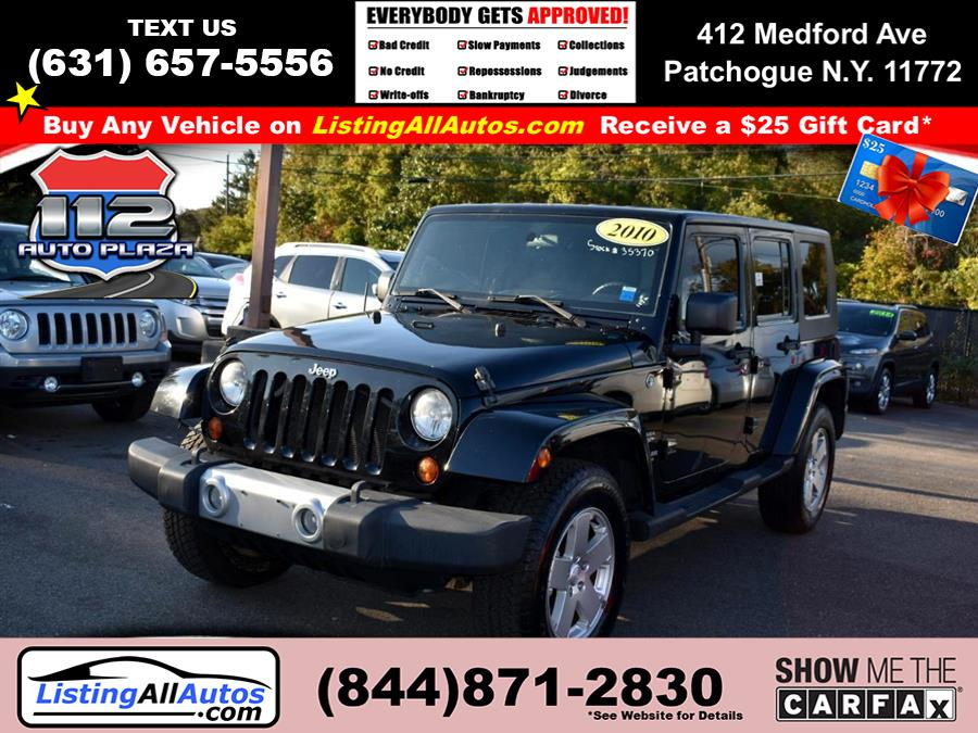 Used Jeep Wrangler Unlimited 4WD 4dr Sahara 2010 | www.ListingAllAutos.com. Patchogue, New York