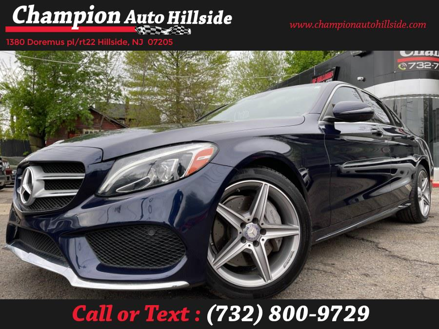 Used 2017 Mercedes-Benz C-Class in Hillside, New Jersey | Champion Auto Hillside. Hillside, New Jersey