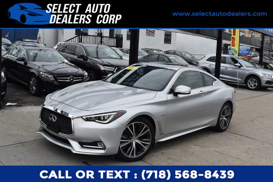 Used INFINITI Q60 3.0t LUXE AWD 2018 | Select Auto Dealers Corp. Brooklyn, New York