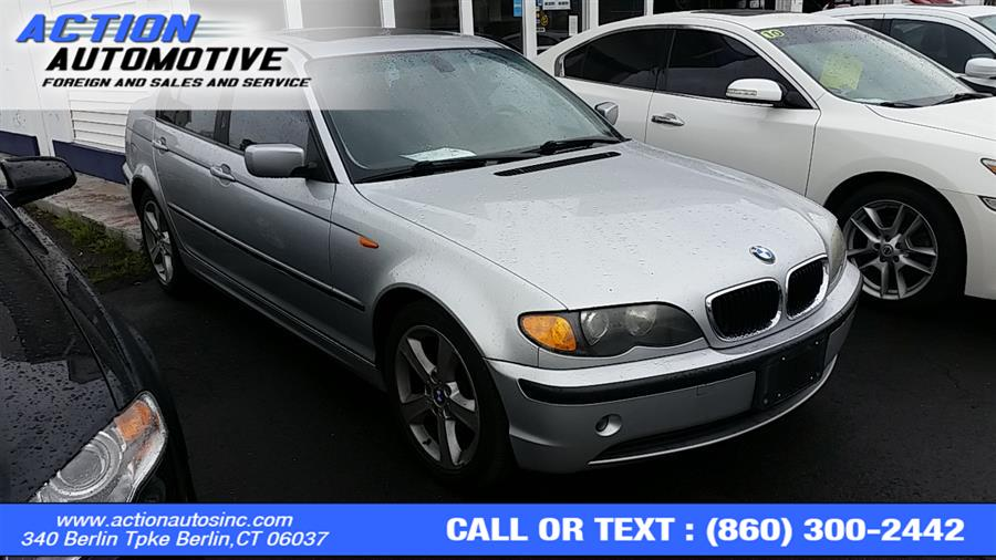 Used BMW 3 Series 325xi 4dr Sdn AWD 2004 | Action Automotive. Berlin, Connecticut