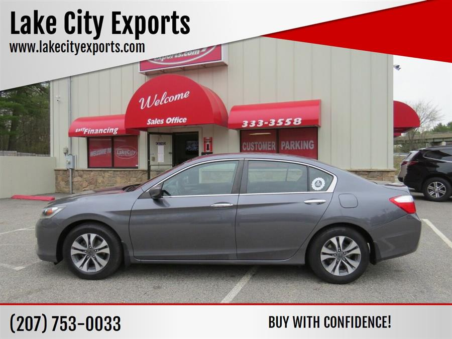 Used Honda Accord LX 4dr Sedan 6M 2013   Lake City Exports Inc. Auburn, Maine