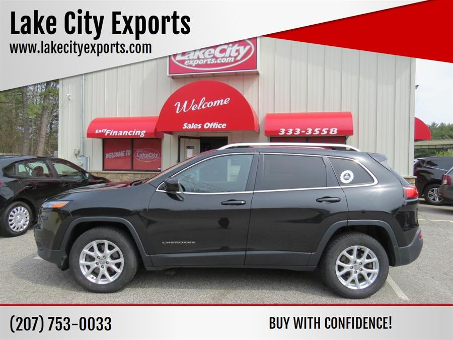 Used Jeep Cherokee Latitude 4x4 4dr SUV 2015   Lake City Exports Inc. Auburn, Maine