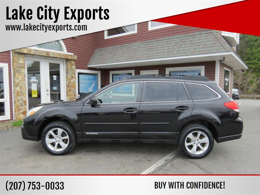 Used Subaru Outback 2.5i Premium AWD 4dr Wagon CVT 2014 | Lake City Exports Inc. Auburn, Maine