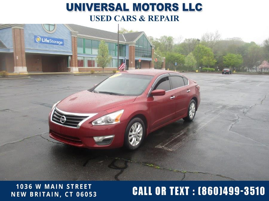 Used 2015 Nissan Altima in New Britain, Connecticut | Universal Motors LLC. New Britain, Connecticut