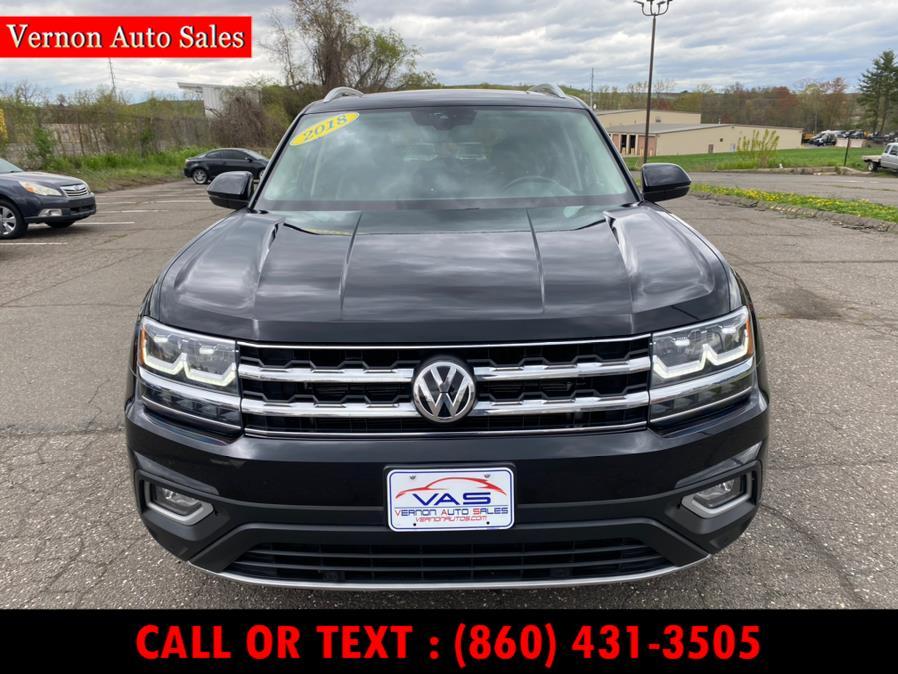 Used Volkswagen Atlas 3.6L V6 SEL 4MOTION 2018 | Vernon Auto Sale & Service. Manchester, Connecticut