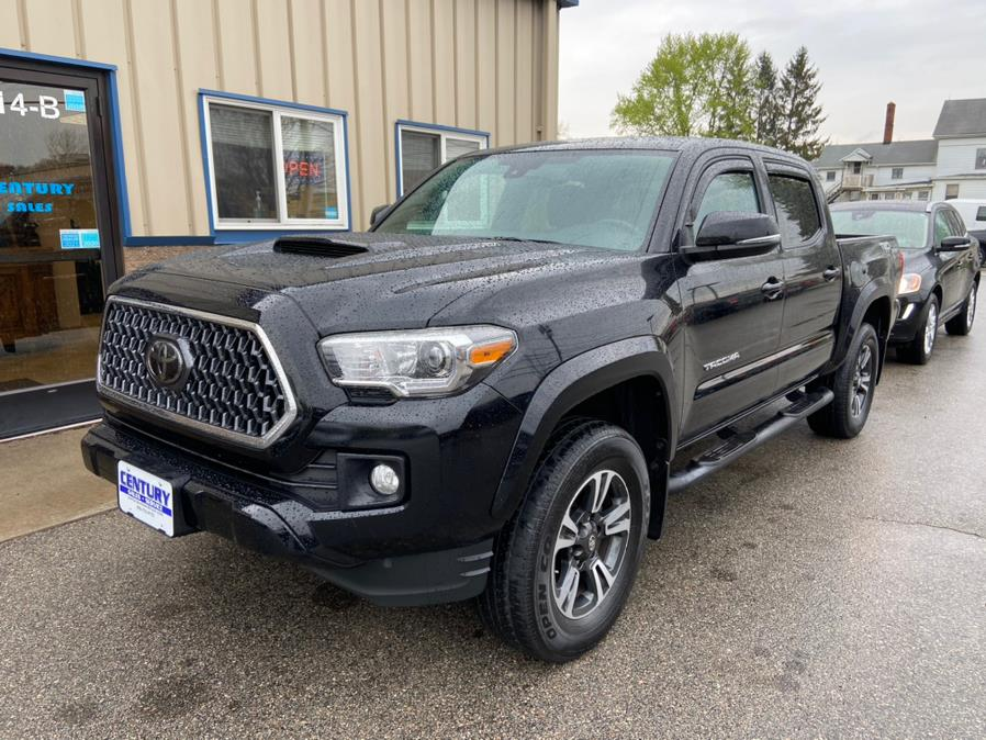 Used Toyota Tacoma TRD Sport Double Cab 5'' Bed V6 4x4 AT (Natl) 2018 | Century Auto And Truck. East Windsor, Connecticut