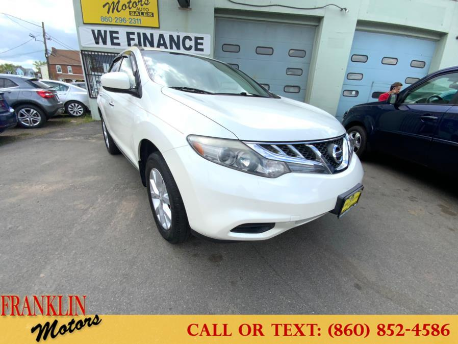 Used 2012 Nissan Murano in Hartford, Connecticut | Franklin Motors Auto Sales LLC. Hartford, Connecticut
