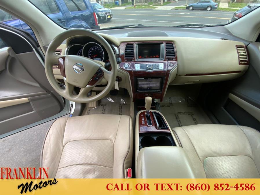 Used Nissan Murano AWD 4dr LE 2012   Franklin Motors Auto Sales LLC. Hartford, Connecticut