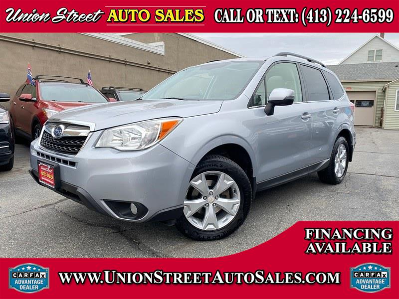 Used Subaru Forester 4dr Auto 2.5i Touring PZEV 2014 | Union Street Auto Sales. West Springfield, Massachusetts