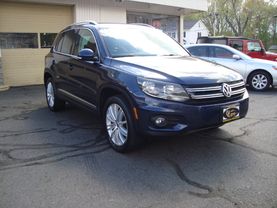 Used Volkswagen Tiguan 4MOTION 4dr Auto SE w/Appearance 2014 | Yara Motors. Manchester, Connecticut