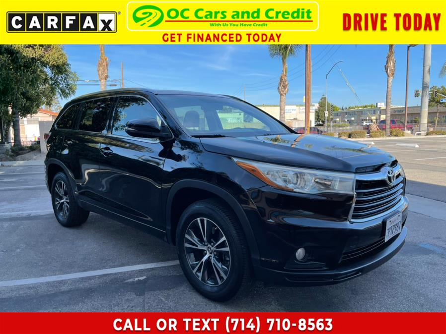 Used 2016 Toyota Highlander in Garden Grove, California | OC Cars and Credit. Garden Grove, California