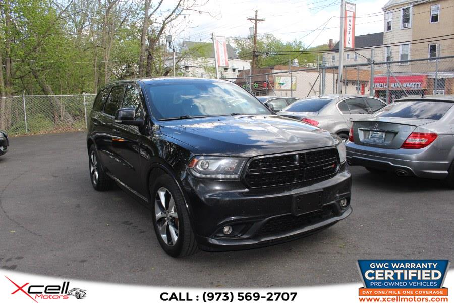 Used 2014 Dodge Durango AWD R/T in Paterson, New Jersey | Xcell Motors LLC. Paterson, New Jersey