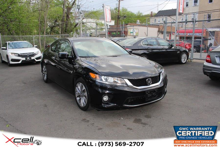 Used 2013 Honda Accord Cpe EX-L w/Navi in Paterson, New Jersey | Xcell Motors LLC. Paterson, New Jersey