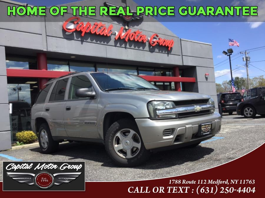 Used 2002 Chevrolet TrailBlazer in Medford, New York | Capital Motor Group Inc. Medford, New York