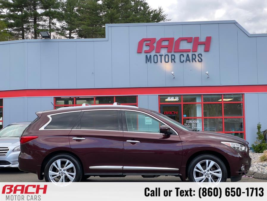 Used Infiniti JX35 AWD 4dr 2013 | Bach Motor Cars. Canton , Connecticut