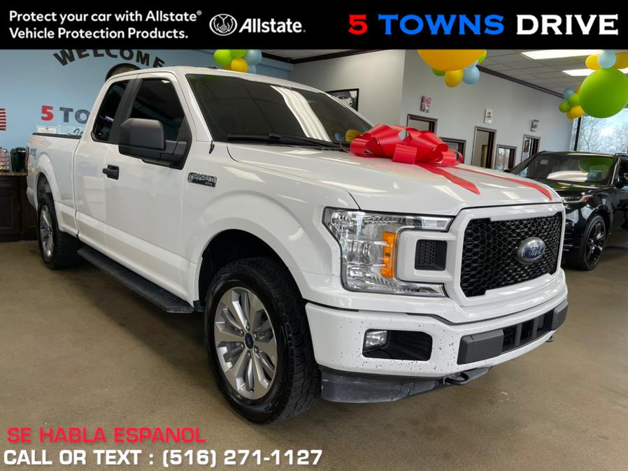 Used Ford F-150 XL 4WD SuperCab 6.5'' Box 2018 | 5 Towns Drive. Inwood, New York