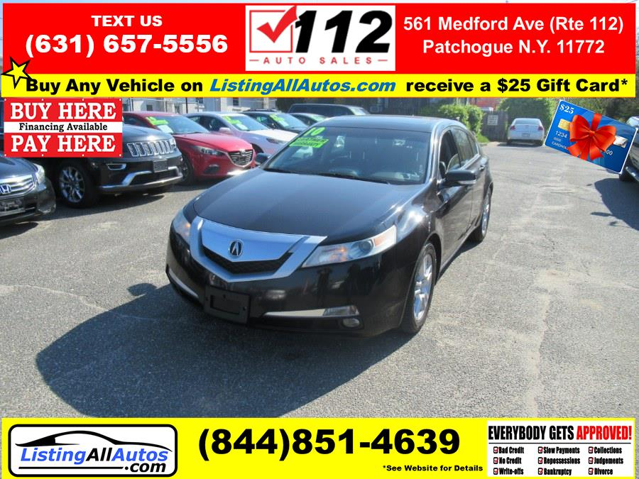 Used Acura TL 4dr Sdn 2WD 2010 | www.ListingAllAutos.com. Patchogue, New York